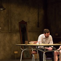 "Marty Rea and Aisling O'Sullivan in ""The Beauty Queen of Leenane"""