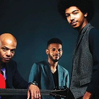 Mark Whitfield, left, and the Whitfield Family Band