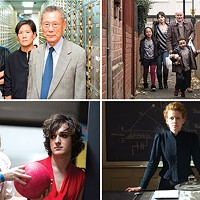 Clockwise from top left: <i>Abacus: Small Enough to Jail</i>; <i>I, Daniel Blake</i>; <i>Marie Curie: The Courage of Knowledge</i>; and <i>Don't Call Me Son</i>