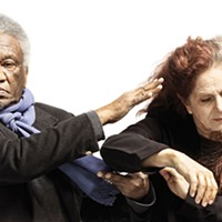 Beth Corning and Donald Byrd in <i>WHAT'S MISSING?</i>