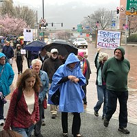 Tuesdays With Toomey marchers today