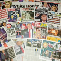 In the current news climate, it's time to question where news outlets get their information