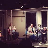 A scene from <i>Lights Out</i>, at Pittsburgh Playwrights