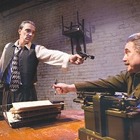 Tony Bingham (left) and Martin Giles in Quantum Theatre's <i>Collaborators </i>