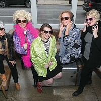 Organizers of The Andy Warhol Museum's Autism Acceptance Disco, from left:Danielle Linzer,Leah Morelli,Jessica Benham,Lu Randall andNicole Dezelon