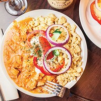 On the North Side, Huszar offers classic Hungarian comfort food