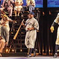 Alfred Walker (center) in <i>The Summer King</i>, at Pittsburgh Opera