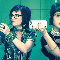 With their band  Nancy And Beth, comedic actresses Megan Mullally and Stephanie Hunt take their shows seriously