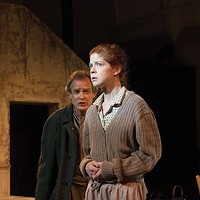 James FitzGerald and Karen Baum in <i>Sive</i>, at PICT Classic Theatre