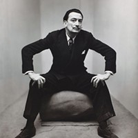 <i>Irving Penn: Beyond Beauty</i> opens June 17 at the Frick Art Museum Photo of Salvador Dali