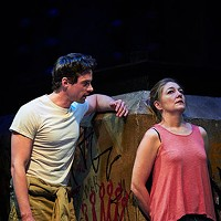 JD Taylor and Rebecca Harris in<i> Ironbound</i>, at City Theatre