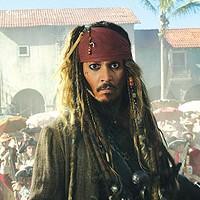 He's back: Capt. Jack Sparrow (Johnny Depp)
