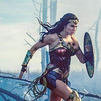 Wonder Woman (Gal Gadot) takes the field during the Great War.