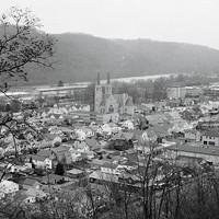 A view of Ford City taken in 1976