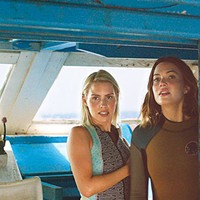 Diving right in: Kate (Claire Holt) and Lisa (Mandy Moore)