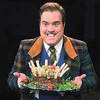 Tom Protulipac in <i>One Man, Two Guvnors </i>