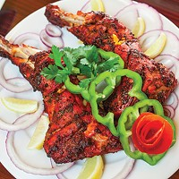 Spice Affair, in Aspinwall, offers a full menu of Indian fare