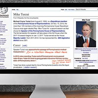 Pennsylvania House Speaker Mike Turzai's Wikipedia edited by account tied to House Republicans