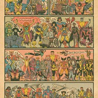 The pin-up-style rendition of X-Men characters that Ed Piskor tweeted in 2015
