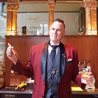 Blend Bar bartender and cigar enthusiast Rocky Croyle