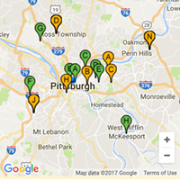 Two Pitt students working at Radio Shack built an app that tracks food trucks in real time