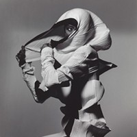 """Issey Miyake Fashion: White and Black,"" by Irving Penn (New York, 1990, printed 1992)"