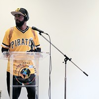 Chicago man stops in Pittsburgh on 672-mile walk to raise awareness about gun violence