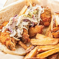 Liam's Fish, Wings, & Things offers Southern-fried food in Wilkinsburg