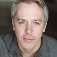 Tim McGeever in <i>A Funny Thing</i> …, at City Theatre