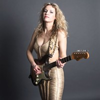 Ana Popović, a different kind of blues guitarist, plays Jergel's Rhythm Grille