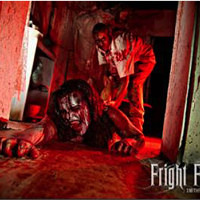 "This year Rich Farms presents ""CREATURES"".   Entering its 28th season, Fright Farm is Pennsylvania's premier professional haunt with four distinct attractions;   Haunted Hayride, Frightmare Manson, Hallow Grounds and Terror Maze.   State of the art special effects, custom digital sound tracts and talented actors make Fright Farm a truly scary experience.  <a href=""http://www.frightfarm.com"">www.frightfarm.com</a>"