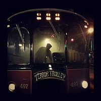 "<br>Come aboard the Terror Trolley and hear haunted tales of Pittsburgh's darkest secrets. We will reveal the legends of those that still haunt the streets today, including the story of what was once ""the most haunted house in America."" Tours run Thursdays, Fridays and Saturdays in October. <a href=""https://www.mollystrolleyspittsburgh.com/terror-trolley"" target=""_blank"">Book online</a>."