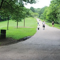 Frick Park, winner of Best Walking Trail and Best Dog Park