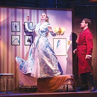 Katie Weinstein and Jeremy Spoljarick in <i>Kiss Me Kate</i>, at Point Park Conservatory