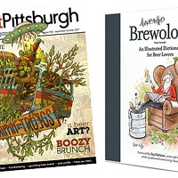 Two Pittsburgh publications made for beer lovers: Craft Pittsburgh magazine and Mark Brewer's <i>Brewology</i>