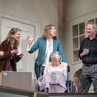 The cast of <i>The Humans</i>, at Pittsburgh Public Theater