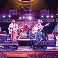 Chase and the Barons on stage at <i>City Paper</i>'s Face the Music Battle of the Bands