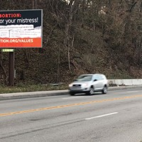 One of the billboards paid for by Reproaction