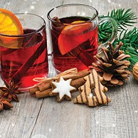 Nothing says holiday cheer like a pot of mulled wine