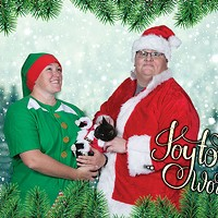 Want the perfect holiday card? Lose those Steelers jerseys and dial back the creepy