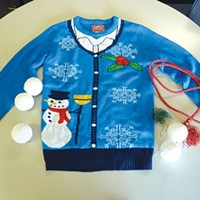 Three steps to build your own ugly holiday sweater
