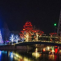 Kennywood sparkles for the season with Holiday Lights
