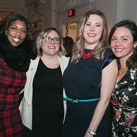 WTF Pittsburgh founders Marita Garrett, Ashleigh Deemer, Natalia Rudiak and Chelsa Wagner
