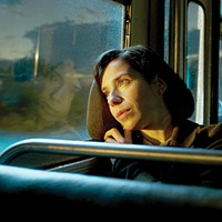 On the bus: Elisa (Sally Hawkins)