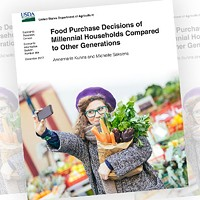 They're at it again; report finds millennials prepare less food at home