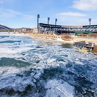 Pittsburgh's frozen rivers will stick around despite warming temperatures
