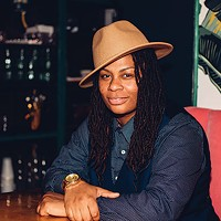 Breeze Youngblood, photographed at Round Corner Cantina