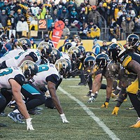 The Jacksonville Jaguars at Heinz Field earlier this month