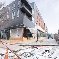 The Arsenal 201 apartment complex in Lawrenceville is set to open soon, even as demand for high-end rentals is dipping.