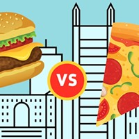 Do Pittsburgers prefer burgers or pizza?